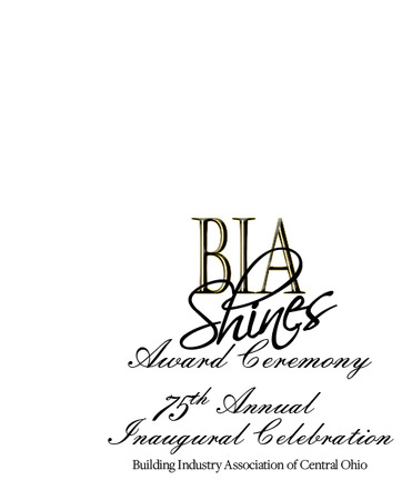 2018 BIA Shines Program Cover